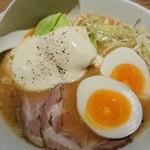 KYOTO MISO RAMEN KAZU - 北海道味噌ラーメン