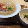 うみかぜ - 料理写真:真鯛出汁ラーメン 鯛茶漬けのセット