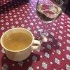 ビストロ モザール - 料理写真:セットのスープと、料金別の白ワイン