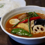 五○堂 - チキン野菜(5辛)