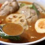 五○堂 - 香味焙煎スープ(+100円)