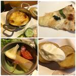 99689386 - ◆「ポテト・サワークリームのせ」「鰊の食感の品」「ピッツア」「ココット」などが美味しかったですね。