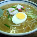 喜楽 - 納豆ラーメン