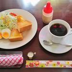 ライト - 料理写真:モーニング・スペシャルセット(400円)