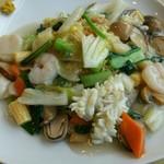 天津菜館 - 料理写真:海鮮あんかけ焼そば