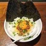 麺処はるにれ - 麺処はるにれ(ランチ限定・豚そぼろ飯のセット +200円)