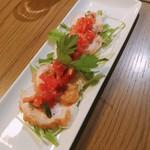MEGRO Dining - ローストチキンのトマトマリネ  500円