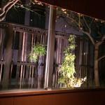 神楽坂 SHUN - 店内から見た風景