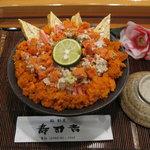 寿司吉 - 能登丼 香箱丼