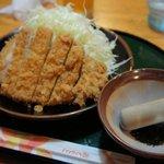 麺家こころ - ロースカツ