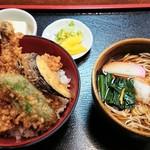 99701237 - 穴子丼セット 1,250円
