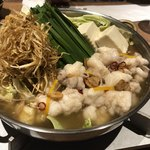 喜水亭 和樂 - もつ鍋ゆず風味