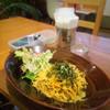 ミジンコ食堂 - 料理写真:高菜と明太子の和風スパ