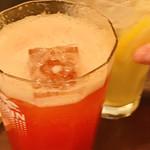 スタンドコロッケ - トマト酎ハイのおかわり(多分)