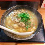 恵 - カレーうどん 900円