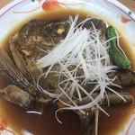 すしざんまい - 真鯛かぶと煮