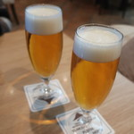 ウィステリア - 生ビールで乾杯