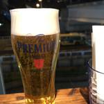 カプリカフェ - 生ビール