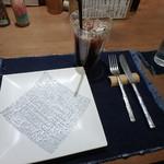 紅鶴 - アイス珈琲¥500