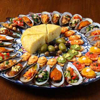 カタルーニャやアンダルシア等◇各地の名物伝統料理が揃います