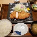 とんかつ 和幸 - ロースかつ御飯2018.12.30