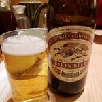 とんかつ 和幸 - 瓶ビール2018.12.30