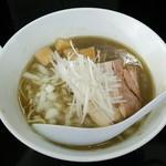 煮干中華そば のじじR - 煮干し中華そば(HARDハード)(800円)