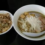 煮干中華そば のじじR - ツーショット