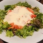 沖縄創作ダイニング 菜美ら - とろ〜りフォンデュチーズのタコライス 1,000円