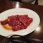 焼肉レストラン ソウル - ハラミ850円ちょっと食べかけ