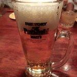 あまからくまから - ビールは「プレミアムモルツ」