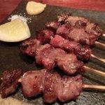 あまからくまから - 「焼き豚串 五本盛り」