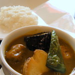 9972091 - 【2011-10】牛肉と焼野菜のカレー