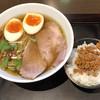 麺屋すみか - 料理写真:すみかラーメン醤油890円+ 台湾ミンチ乗せご飯150円=1040円税込価格