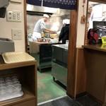 志のぶ本店 - 厨房