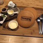 居酒屋フレンチ ranpu - つやつやパンケーキ