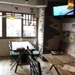 居酒屋フレンチ ranpu - 眺めの良いテーブル席
