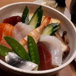 鮨和 - (例)ランチちらし1000円