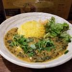 SPICY CURRY 魯珈 - ひじきと豆のお雑煮カレー~南インドのかほり~