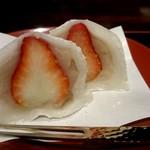 菓舗 カズナカシマ - イチゴ大福
