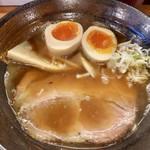 宮川伊吹 - 中華そば並750円+煮卵100円