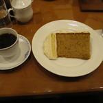 自家焙煎椿屋珈琲 - ケーキセット