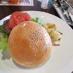 ジョーンズカフェ - マーシー・ハンバーガ\630円