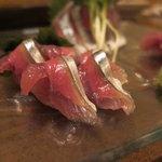 9973300 - 秋刀魚の刺身