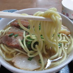 楓食堂 - 麺は石垣島から仕入れています