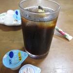 楓食堂 - アイス珈琲