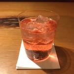 鶏ノ屋 - 桜ジンジャー。 美味し。