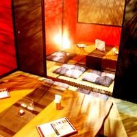 かごしま黒豚 芋焼酎 さつま花亭-完全個室は2~15名様までご利用可能です!