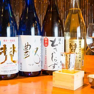 こだわりのお酒をご提供!国内外で様々な受賞歴を持つ日本酒も