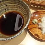 三合菴 - 辛汁と薬味